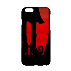 Halloween Black Witch Apple Iphone 6/6s Hardshell Case by Valentinaart