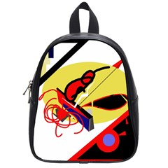 Abstract Art School Bags (small)  by Valentinaart