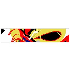Abstract Art Flano Scarf (small) by Valentinaart