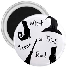 Halloween Witch 3  Magnets
