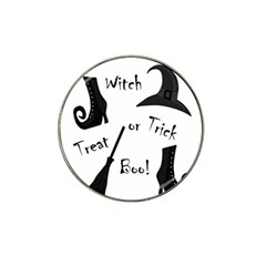 Halloween Witch Hat Clip Ball Marker (10 Pack) by Valentinaart