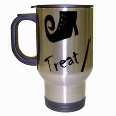 Halloween Witch Travel Mug (silver Gray) by Valentinaart