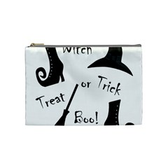 Halloween Witch Cosmetic Bag (medium)  by Valentinaart