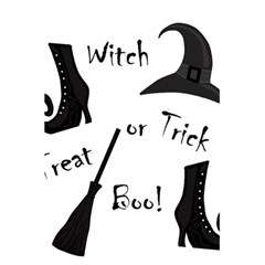 Halloween Witch 5 5  X 8 5  Notebooks