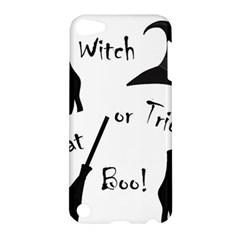 Halloween Witch Apple Ipod Touch 5 Hardshell Case by Valentinaart