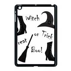 Halloween Witch Apple Ipad Mini Case (black) by Valentinaart