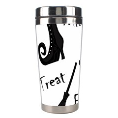 Halloween Witch Stainless Steel Travel Tumblers by Valentinaart