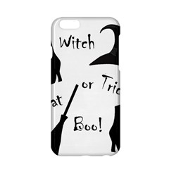 Halloween Witch Apple Iphone 6/6s Hardshell Case by Valentinaart