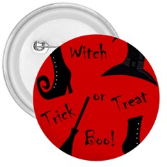 Witch Supplies  3  Buttons by Valentinaart