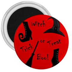 Witch Supplies  3  Magnets by Valentinaart