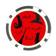 Witch Supplies  Poker Chip Card Guards by Valentinaart