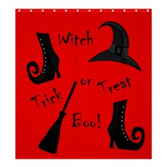 Witch Supplies  Shower Curtain 66  X 72  (large)  by Valentinaart