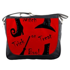 Witch Supplies  Messenger Bags by Valentinaart