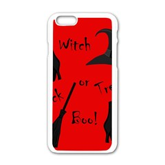 Witch Supplies  Apple Iphone 6/6s White Enamel Case by Valentinaart