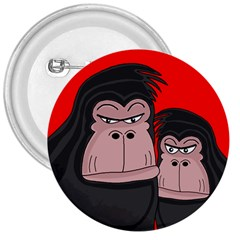 Gorillas 3  Buttons by Valentinaart