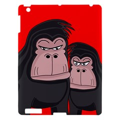 Gorillas Apple Ipad 3/4 Hardshell Case by Valentinaart