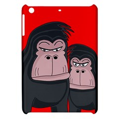 Gorillas Apple Ipad Mini Hardshell Case by Valentinaart