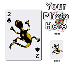Lizard Playing Cards 54 Designs