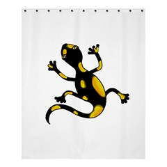 Lizard Shower Curtain 60  X 72  (medium)  by Valentinaart