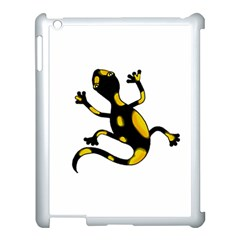 Lizard Apple Ipad 3/4 Case (white) by Valentinaart