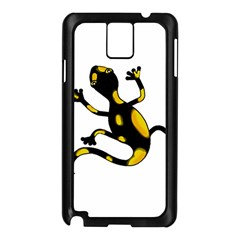 Lizard Samsung Galaxy Note 3 N9005 Case (black) by Valentinaart