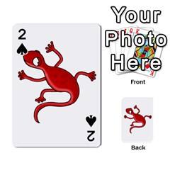 Red Lizard Playing Cards 54 Designs