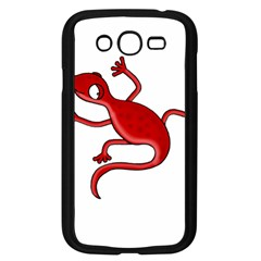 Red Lizard Samsung Galaxy Grand Duos I9082 Case (black) by Valentinaart