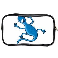 Blue Lizard Toiletries Bags 2 Side by Valentinaart
