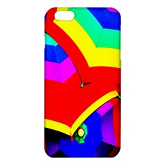 Umbrella Color Red Yellow Green Blue Purple Iphone 6 Plus/6s Plus Tpu Case