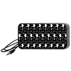 White Star Portable Speaker (black)