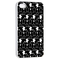 White Star Apple Iphone 4/4s Seamless Case (white)