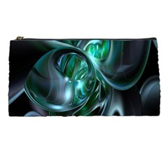 Ws Blue Green Float Pencil Cases by AnjaniArt