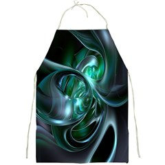Ws Blue Green Float Full Print Aprons by AnjaniArt