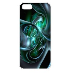 Ws Blue Green Float Apple Iphone 5 Seamless Case (white) by AnjaniArt