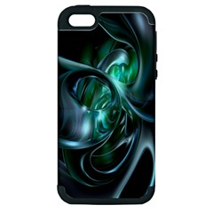 Ws Blue Green Float Apple Iphone 5 Hardshell Case (pc+silicone) by AnjaniArt