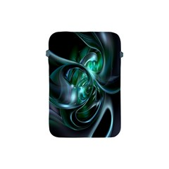 Ws Blue Green Float Apple Ipad Mini Protective Soft Cases by AnjaniArt
