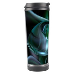 Ws Blue Green Float Travel Tumbler by AnjaniArt