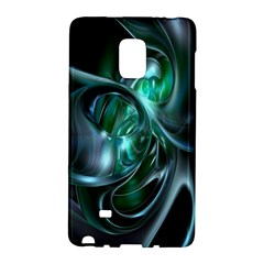 Ws Blue Green Float Galaxy Note Edge by AnjaniArt