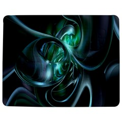 Ws Blue Green Float Jigsaw Puzzle Photo Stand (rectangular) by AnjaniArt
