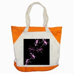 Purple Lizards Accent Tote Bag by Valentinaart