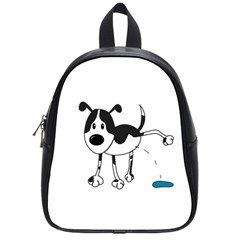 My Cute Dog School Bags (small)  by Valentinaart