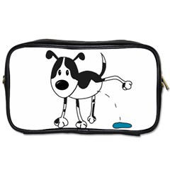 My Cute Dog Toiletries Bags by Valentinaart