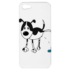 My Cute Dog Apple Iphone 5 Hardshell Case by Valentinaart
