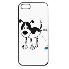 My Cute Dog Apple Iphone 5 Seamless Case (black) by Valentinaart