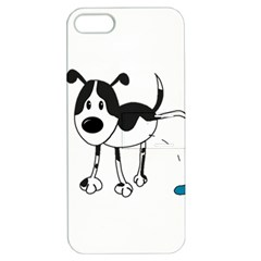 My Cute Dog Apple Iphone 5 Hardshell Case With Stand by Valentinaart