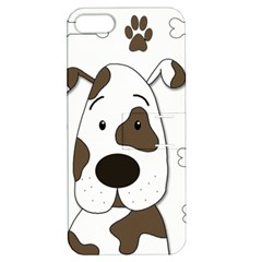 Cute Dog Apple Iphone 5 Hardshell Case With Stand by Valentinaart