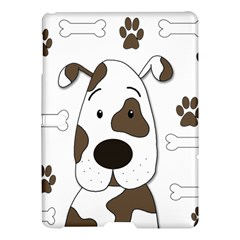 Cute Dog Samsung Galaxy Tab S (10 5 ) Hardshell Case  by Valentinaart