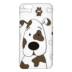 Cute Dog Iphone 6 Plus/6s Plus Tpu Case by Valentinaart