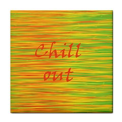 Chill Out Tile Coasters by Valentinaart