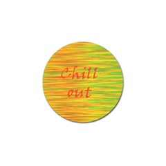 Chill Out Golf Ball Marker (10 Pack) by Valentinaart